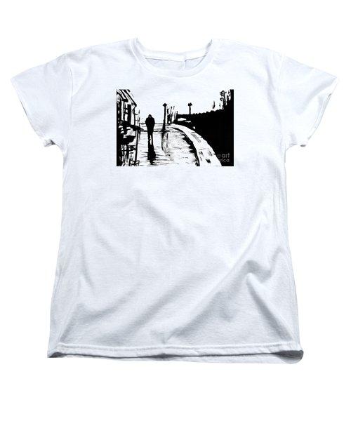 Solitude Women's T-Shirt (Standard Cut) by Alys Caviness-Gober