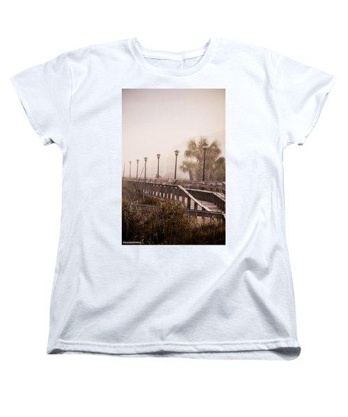 Solitude  Women's T-Shirt (Standard Cut) by Mary Ward