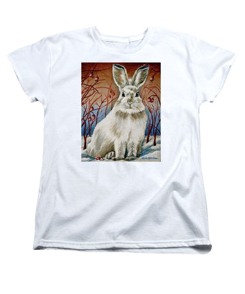 Some Bunny Is Charming Women's T-Shirt (Standard Cut) by Linda Simon