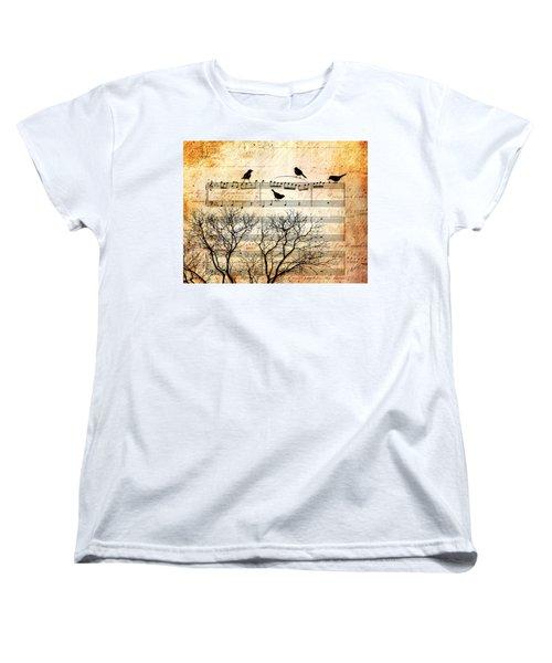 Songbirds Women's T-Shirt (Standard Cut)