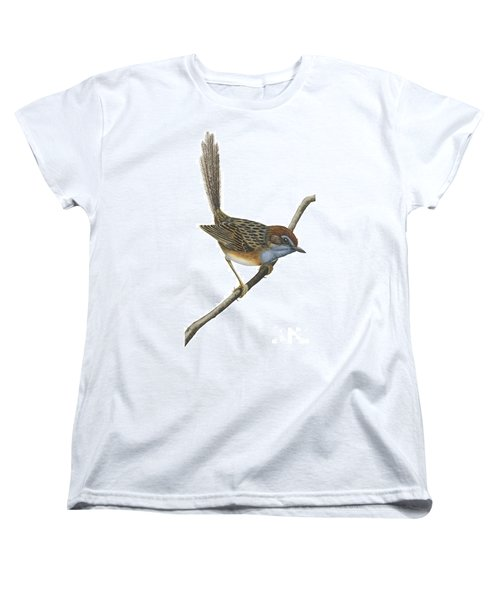 Southern Emu Wren Women's T-Shirt (Standard Cut) by Anonymous