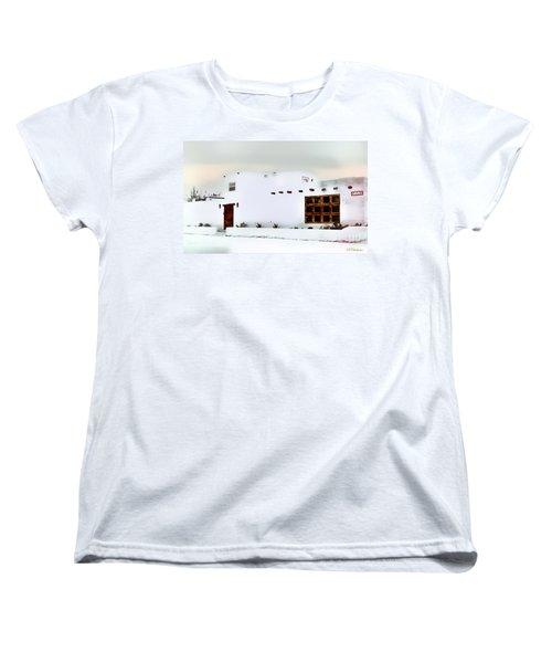 Southwestern Pueblo  Women's T-Shirt (Standard Cut) by Barbara Chichester