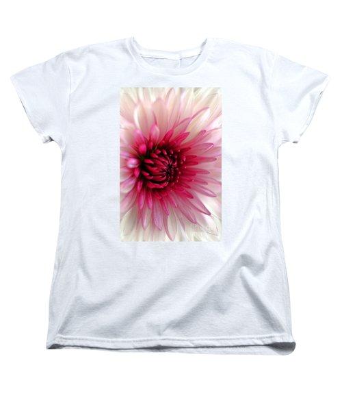 Splash Of Pink Women's T-Shirt (Standard Cut) by Deb Halloran