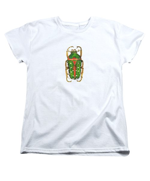 Spotted Flour Beetle Women's T-Shirt (Standard Cut) by Cindy Hitchcock