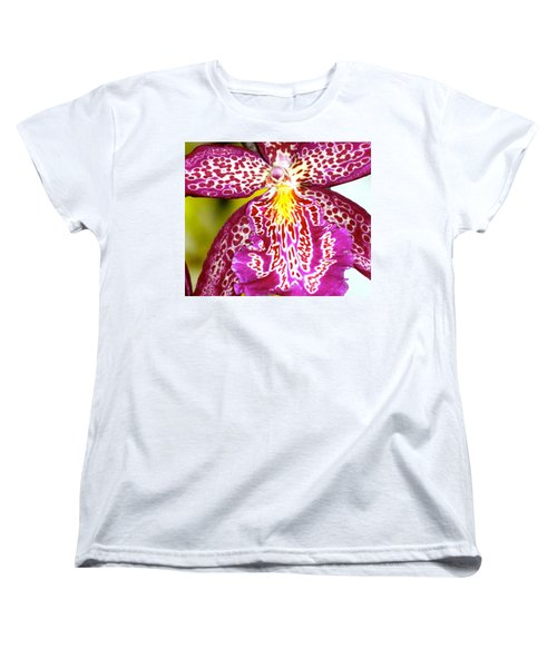 Spotted Orchid Women's T-Shirt (Standard Cut) by Lehua Pekelo-Stearns
