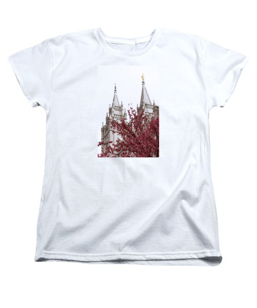 Spring At The Temple Women's T-Shirt (Standard Fit)