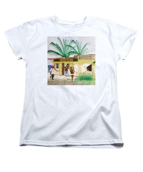 St. Lucia Store Women's T-Shirt (Standard Cut) by Frank Hunter
