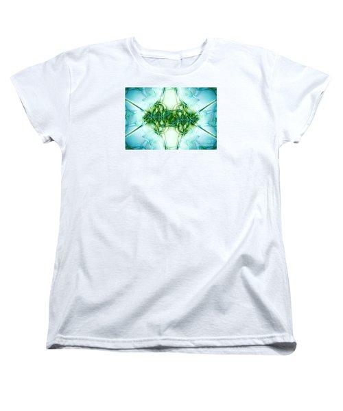 Stain Glass Women's T-Shirt (Standard Cut) by Lena Auxier