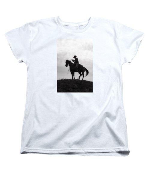 Standing Watch 2013 Women's T-Shirt (Standard Cut) by Joan Davis