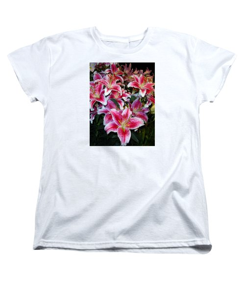 Star Gazing Women's T-Shirt (Standard Cut) by Vickie G Buccini