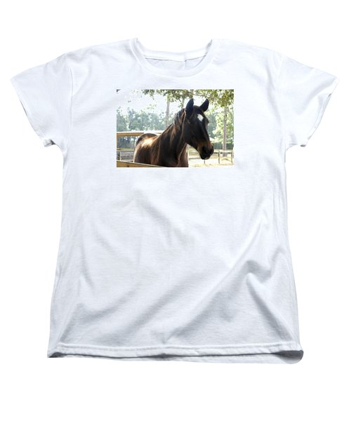 Star Women's T-Shirt (Standard Cut) by Laurie Perry