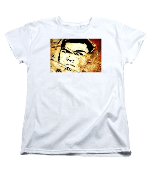 Women's T-Shirt (Standard Cut) featuring the photograph Still Standing  by Christiane Hellner-OBrien
