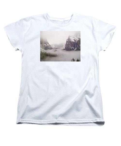 Storm Brewing Women's T-Shirt (Standard Cut) by Bill Gallagher