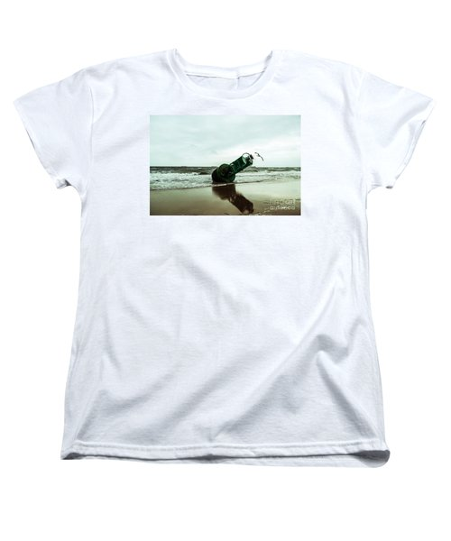 Stranded Women's T-Shirt (Standard Cut) by Angela DeFrias
