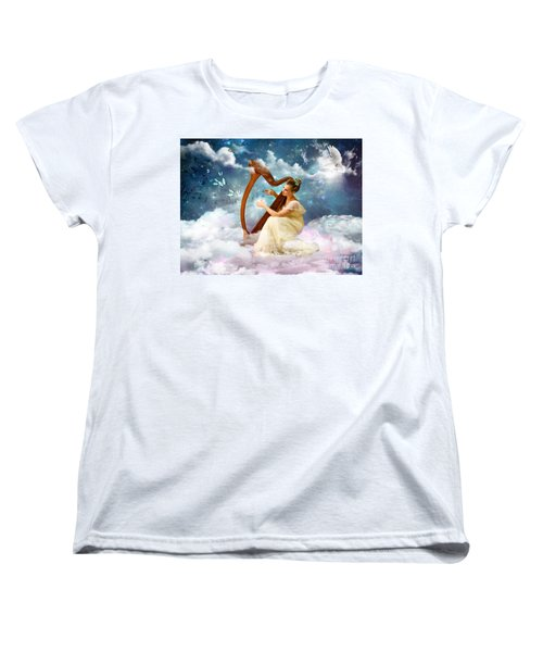 Strings Of My Heart Women's T-Shirt (Standard Cut)