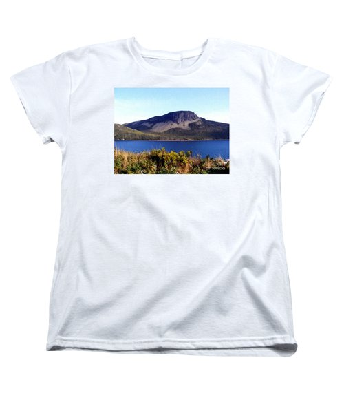 Sugarloaf Hill In Summer Women's T-Shirt (Standard Cut) by Barbara Griffin