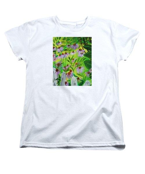 Summer Flowers In Peculiar Mo. Women's T-Shirt (Standard Cut) by Patricia Olson