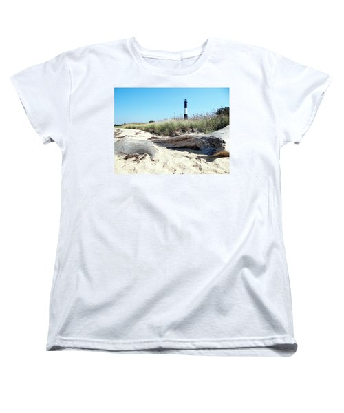 Women's T-Shirt (Standard Cut) featuring the photograph Summer Scene by Ed Weidman