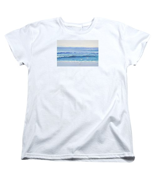 Summer Seascape Women's T-Shirt (Standard Cut) by Jan Matson