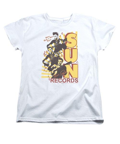 Sun - Tri Elvis Women's T-Shirt (Standard Cut) by Brand A