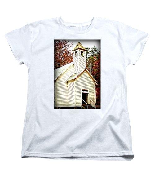 Women's T-Shirt (Standard Cut) featuring the photograph Sunday School by Faith Williams