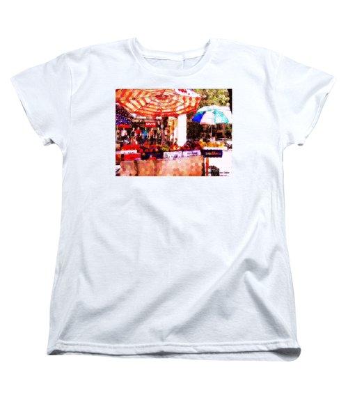 Sunkist Women's T-Shirt (Standard Cut) by Miriam Danar