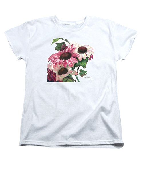 Women's T-Shirt (Standard Cut) featuring the painting Sunny Delight by Barbara Jewell