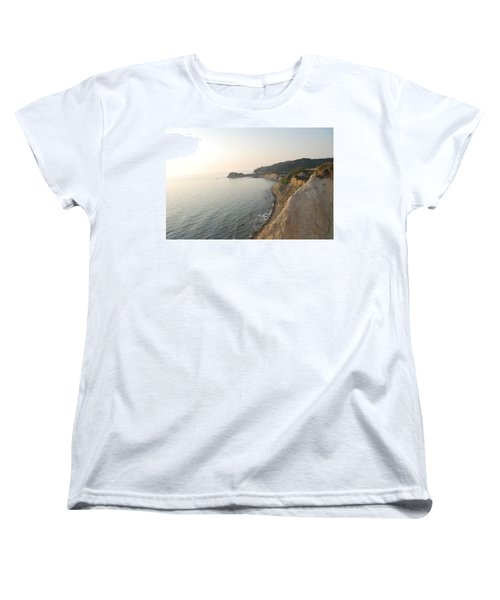 Women's T-Shirt (Standard Cut) featuring the photograph Sunset Gourna by George Katechis