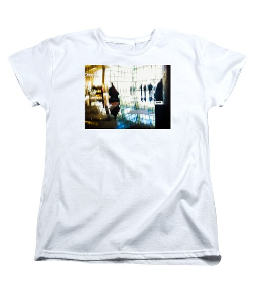 Women's T-Shirt (Standard Cut) featuring the photograph Suspended In Light by Alex Lapidus