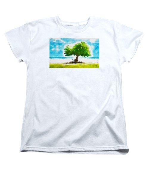 Summer Magic Women's T-Shirt (Standard Cut) by Greg Collins