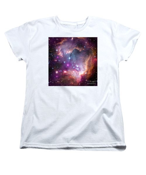 Women's T-Shirt (Standard Cut) featuring the  Taken Under The Wing Of The Small Magellanic Cloud by Paul Fearn