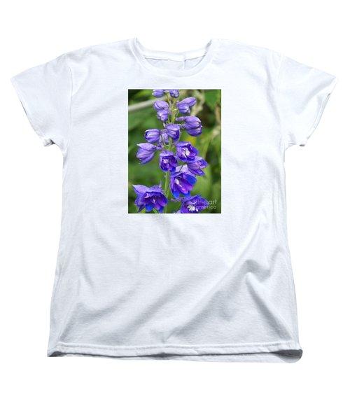 Women's T-Shirt (Standard Cut) featuring the photograph Tall Garden Beauty by Eunice Miller