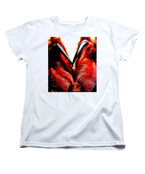 Women's T-Shirt (Standard Cut) featuring the photograph Tarantula Fangs by John King