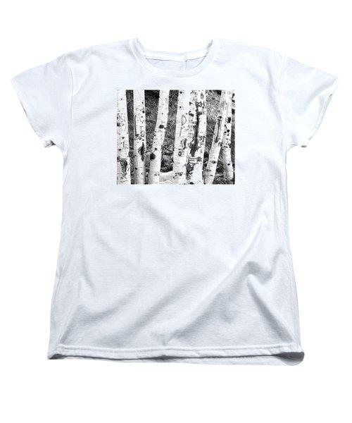 Tattoo Trees Women's T-Shirt (Standard Cut)