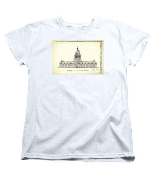 Texas State Capitol Architectural Design Women's T-Shirt (Standard Cut)
