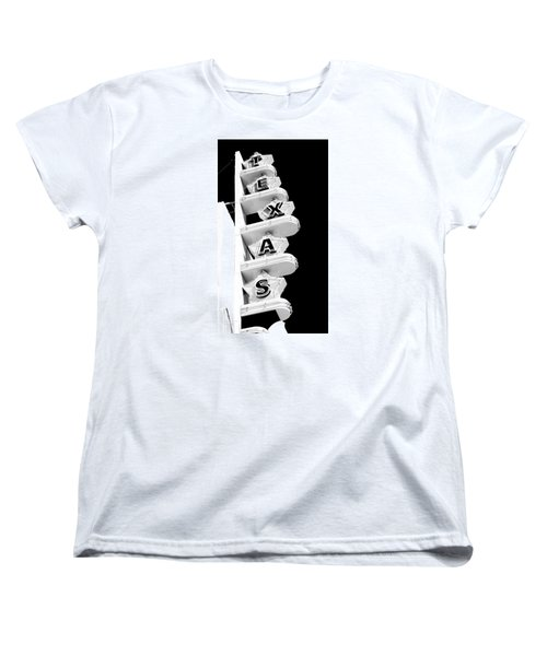 Texas Theater Women's T-Shirt (Standard Cut) by Darryl Dalton