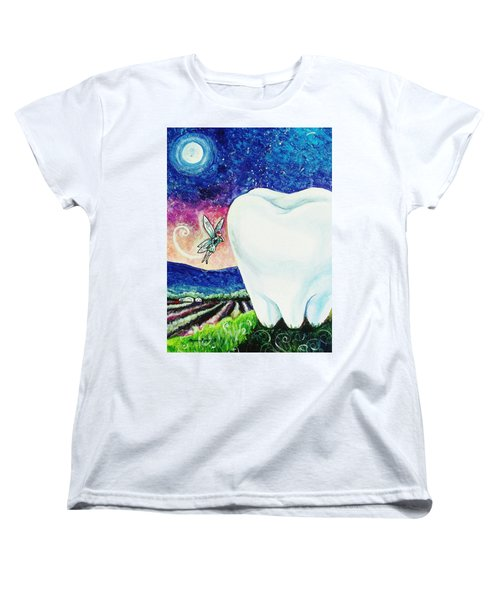 That's No Baby Tooth Women's T-Shirt (Standard Cut) by Shana Rowe Jackson