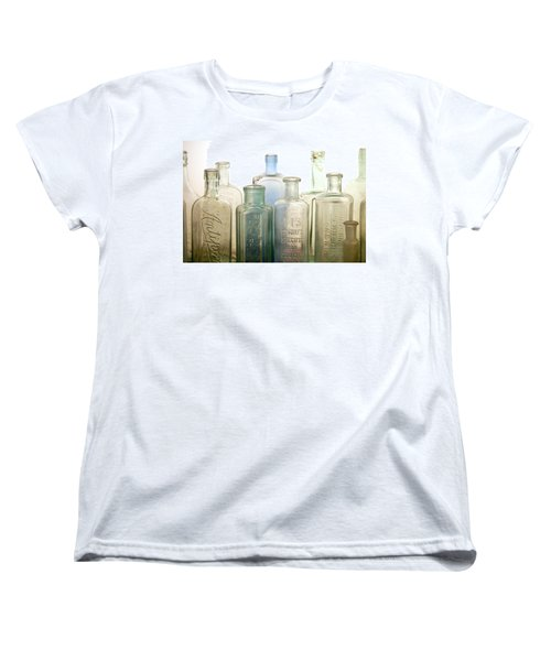 The Ages Reflected In Glass Women's T-Shirt (Standard Cut) by Holly Kempe
