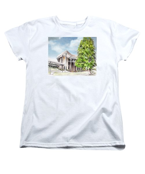The Angles Of A Modern Architecture  Women's T-Shirt (Standard Cut) by Danuta Bennett