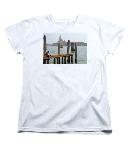 The Artist Women's T-Shirt (Standard Cut) by Ron Harpham