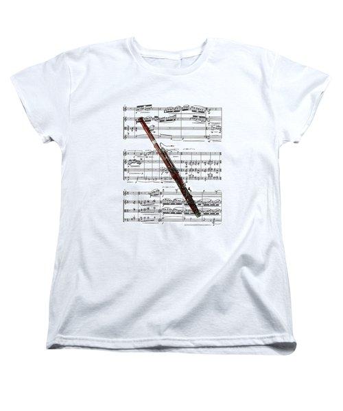 The Bassoon Women's T-Shirt (Standard Cut) by Ron Davidson