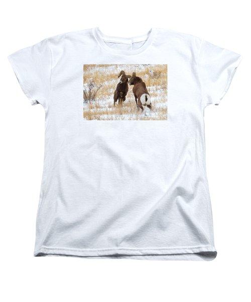 The Battle For Dominance Women's T-Shirt (Standard Cut) by Jim Garrison