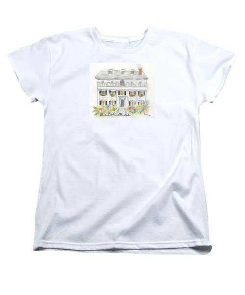 The Beekman Arms In Rhinebeck Women's T-Shirt (Standard Cut) by AFineLyne