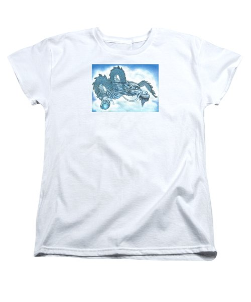 The Blue Dragon Women's T-Shirt (Standard Cut)