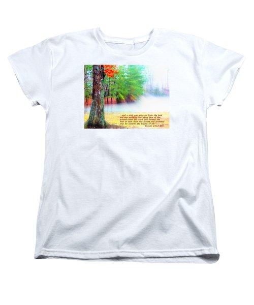 The Breath Of Life Women's T-Shirt (Standard Cut) by Pamela Hyde Wilson