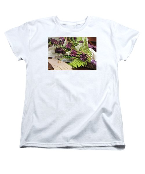 Women's T-Shirt (Standard Cut) featuring the photograph The Bride To Be by Cynthia Guinn