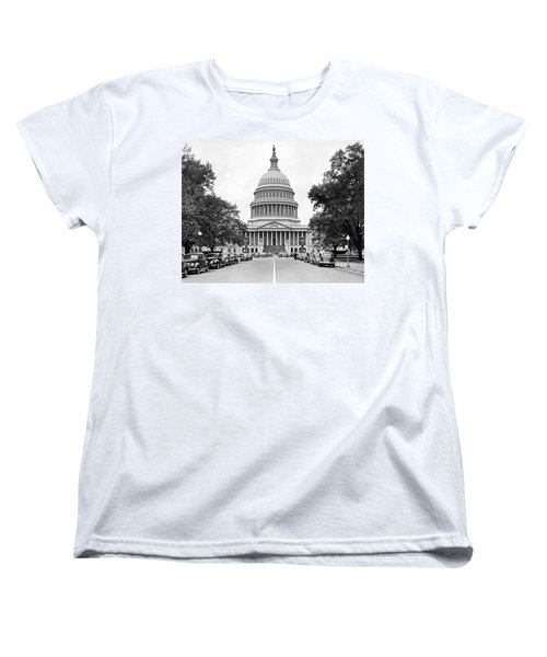 The Capitol Building Women's T-Shirt (Standard Cut) by Underwood Archives