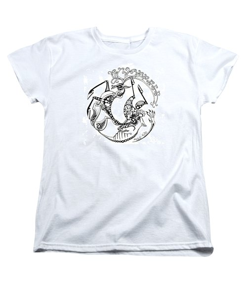 The Circle Of Life Women's T-Shirt (Standard Cut) by Melinda Dare Benfield