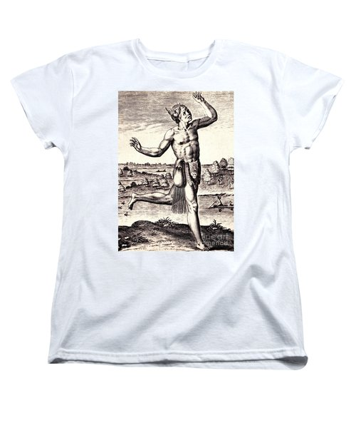 The Conjurers Use Strange Gestures Women's T-Shirt (Standard Cut) by Peter Gumaer Ogden