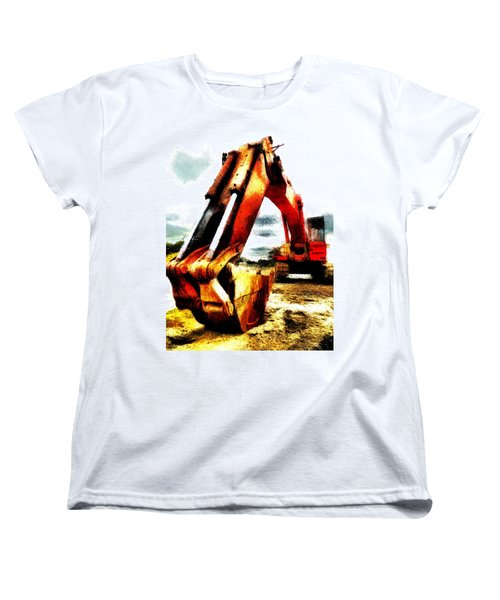 The Crab Claw Women's T-Shirt (Standard Cut) by Steve Taylor